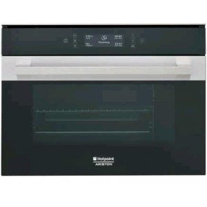 Hotpoint Ariston Forno Combinato a Vapore da Incasso, 34 litri, 1450 W  -  MS 998 IX HA