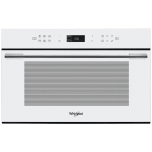 WHIRLPOOL  Microonde ad Incasso, W Collection, Capacità 31 Lt, Vetro Bianco  -  W7 MD440 WH