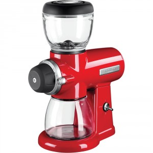 KitchenAid Macinacaffè 5KCG0702EER Finitura Rosso Imperiale
