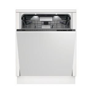 Beko Lavastoviglie a scomparsa totale DIN39430, larghezza 60cm, 15 coperti, 9 programmi, terzo cestello Flexible e sistemi SlideFitTM, SelFitTM e Watersafe+