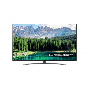 LG TV LED AI Super Ultra HD NanoCell Smart TV 55'' 4K Cinema HDR Dolby Vision™ e Dolby Atmos® Google - 55SM8600PLA