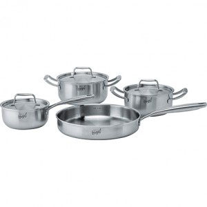 Franke collezione pentole Make It Wonderful Cookware Inox satinato - 112.0499.553